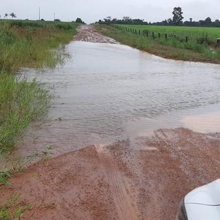 Estradas da zona rural de Colíder são castigadas pelas chuvas