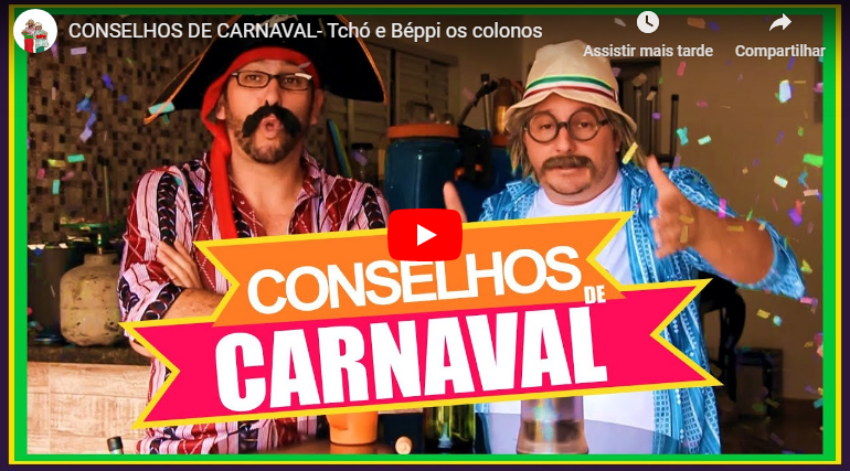 CONSELHOS DE CARNAVAL