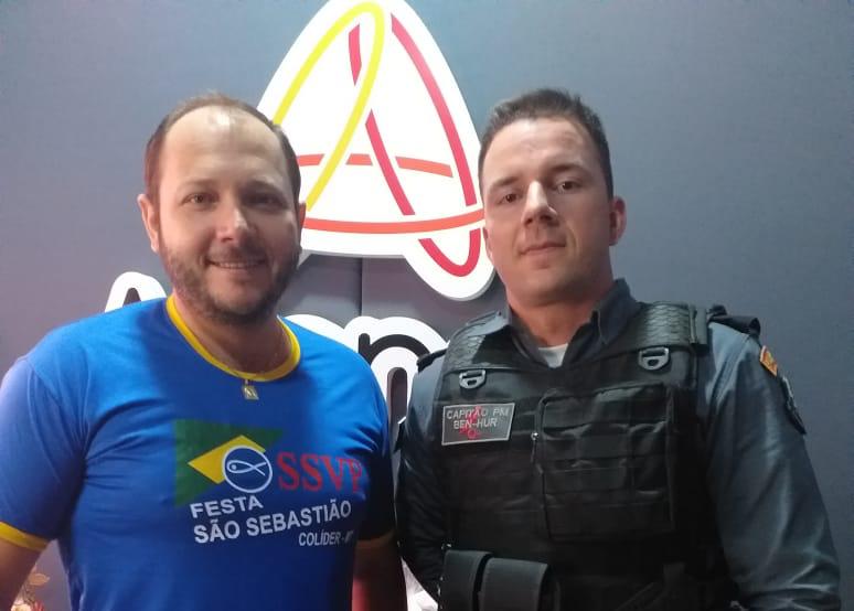 Cidade em pauta entrevistou Capitão Ben-Hur da Polícia Militar.