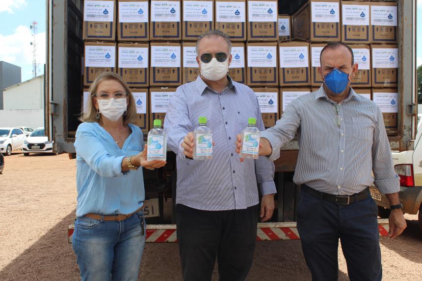 Usina Hidrelétrica Sinop disponibiliza R$ 1,8 milhão na prevenção e combate ao coronavírus