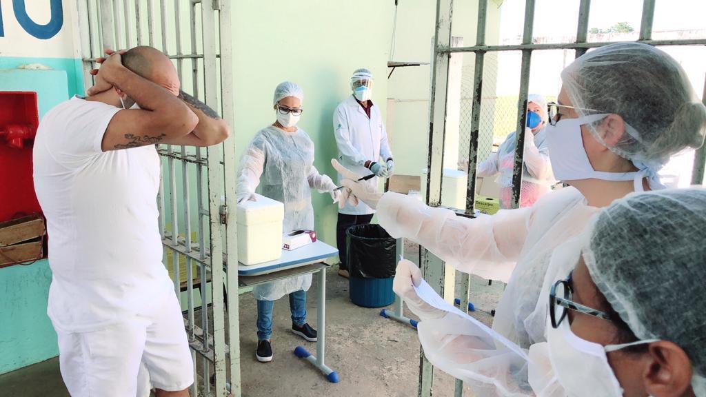 Vacinação contra H1N1 tem meta de imunizar 15 mil pessoas no Sistema Penitenciário