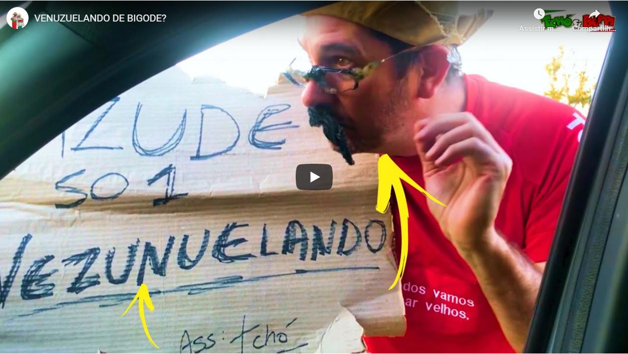 VENUZUELANDO DE BIGODE?