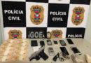 Mais três suspeitos são pressos com drogas e armas pela Policia Civil em continuidade de operação em Alta Floresta (MT)