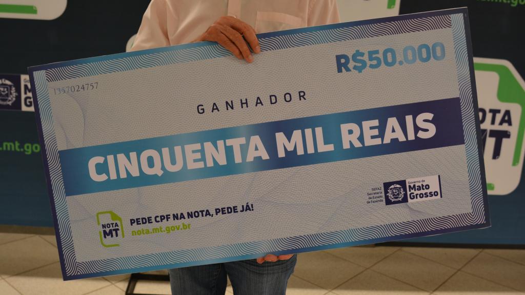 Nota MT sorteia R$ 250 mil em prêmios nesta segunda-feira (21)