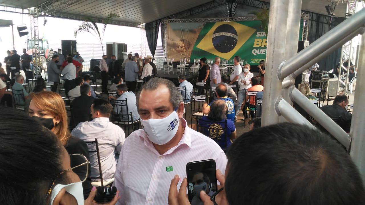 Secretários de governo prestigiam a vinda do presidente em Mato Grosso