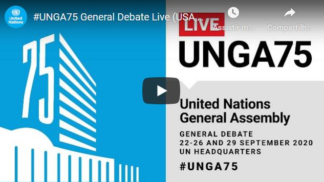 (Live) Presidente Jair Bolsonaro fala agora na ONU. Acompanhe ao vivo!
