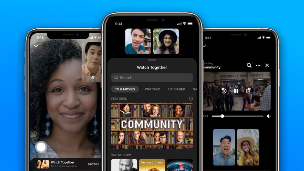 Facebook Messenger apresenta opção para assistir vídeos