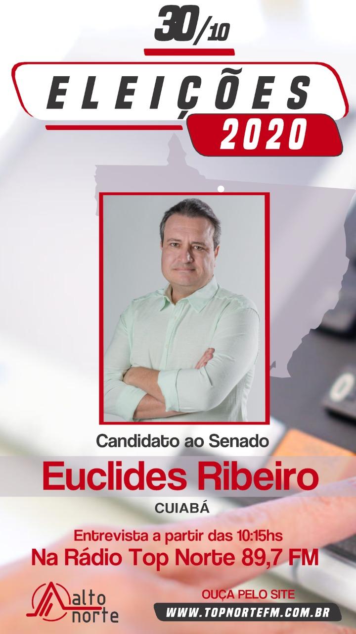 Top FM realiza amanhã (30) a entrevista com Euclides Ribeiro, candidato ao senado  federal