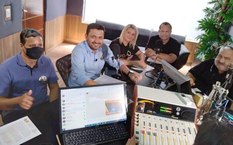Maninho, candidato a prefeito por Colíder (MT) foi o entrevistado de hoje (31) na Top FM; confira aqui