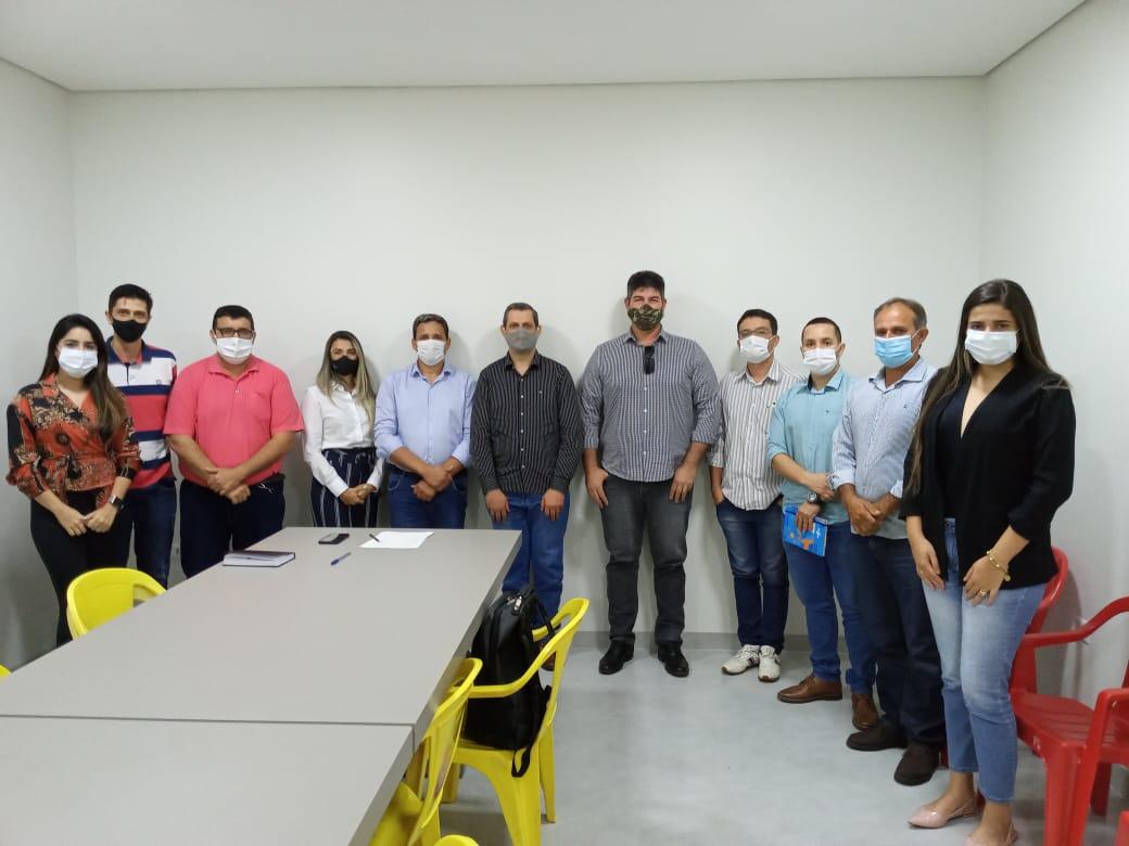 Equipe de transição do Hemerson Máximo (Maninho) recebeu o SEBRAE em Colíder (MT); confira