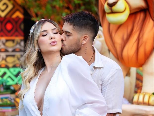 Zé Felipe e Virginia Fonseca revelam sexo do bebê que esperam