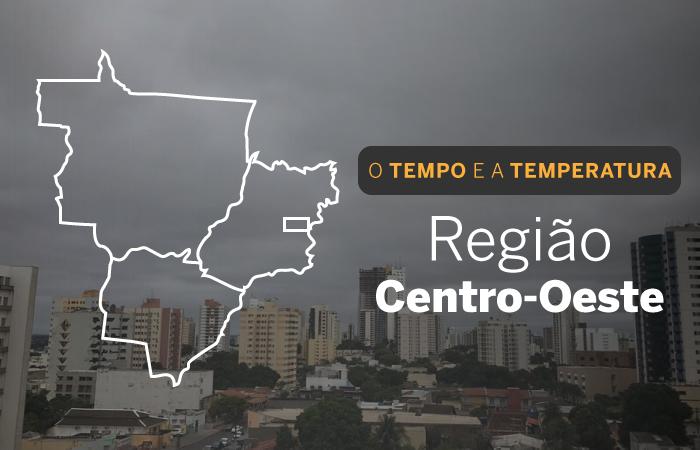O TEMPO E A TEMPERATURA: Centro-Oeste do País tem tempo nublado e quente nesta quinta-feira (03)