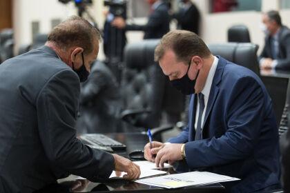Deputado Max Russi é eleito presidente da ALMT para o biênio 2021/2023