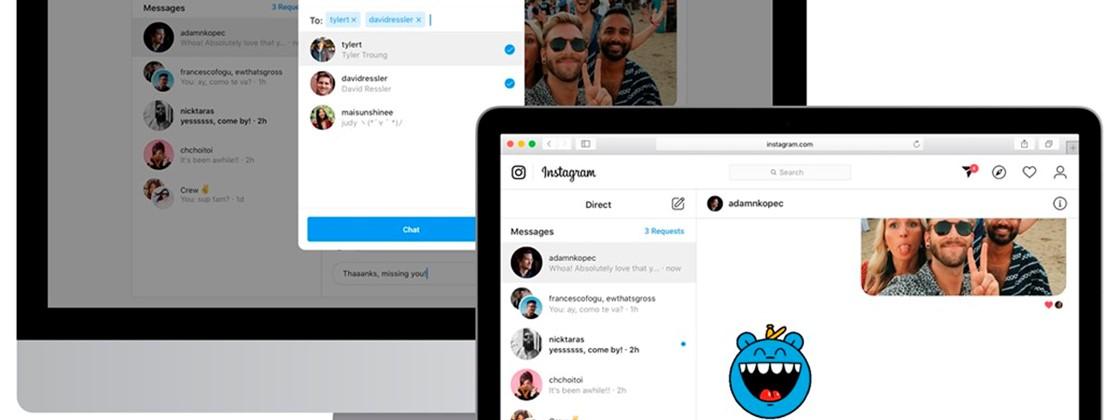 Instagram Direct: como enviar e receber mensagens no PC
