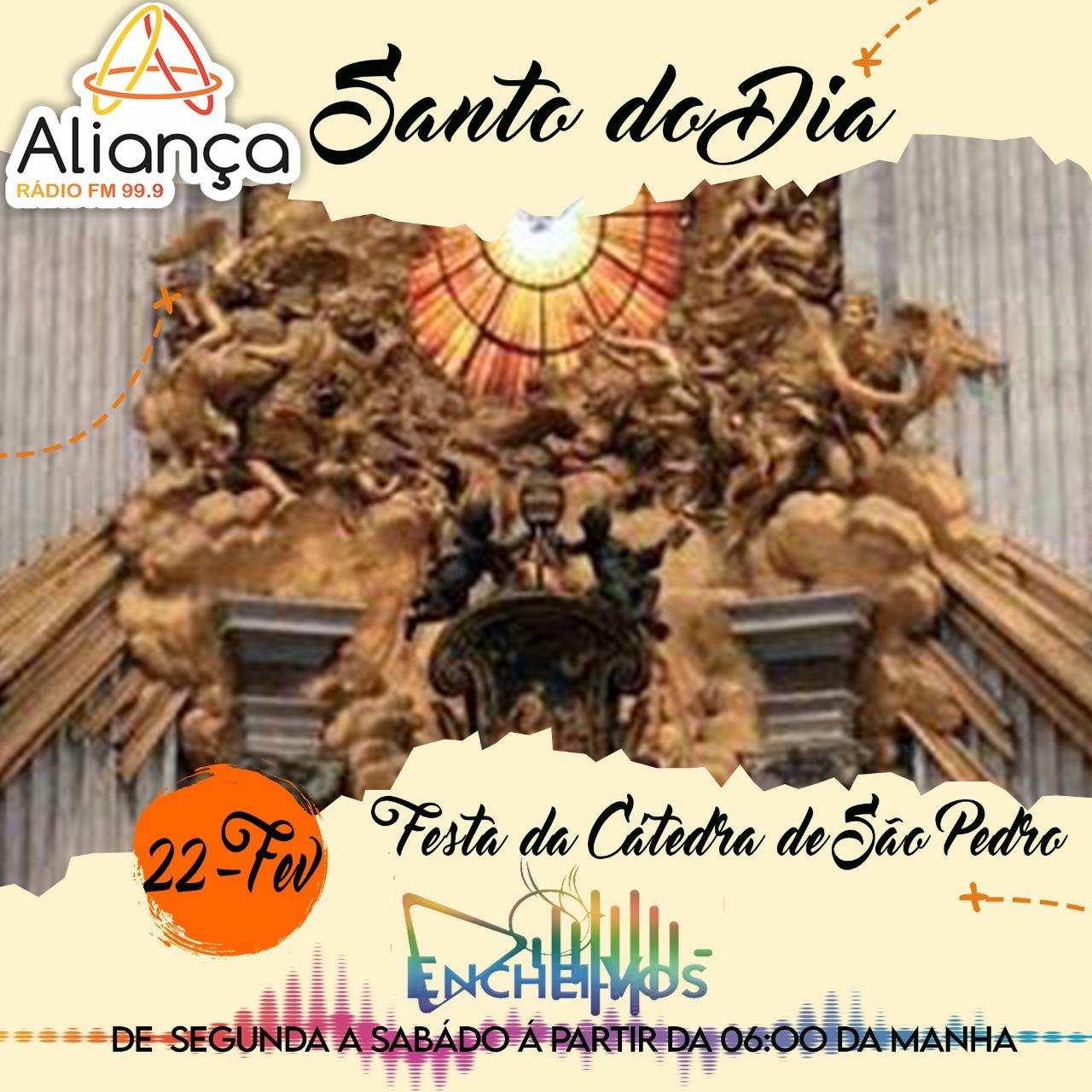 Dia da Festa da Cátedra de São Pedro