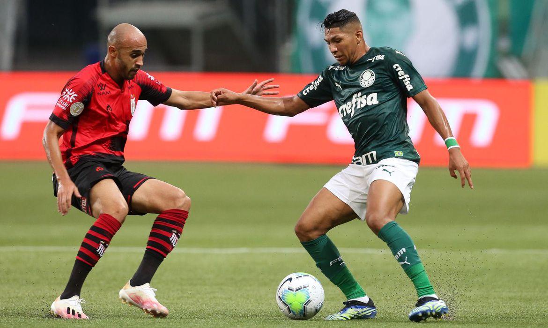 Brasileiro: Palmeiras e Atlético-GO empatam em 1 a 1