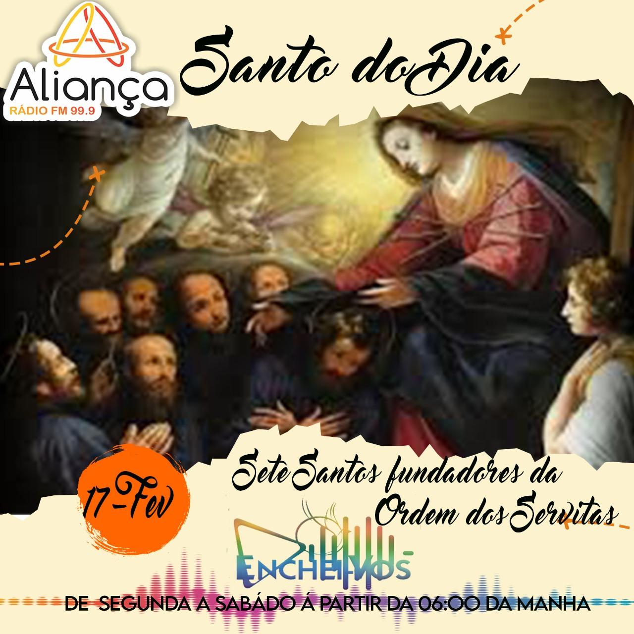 Santo do Dia de hoje (17): Sete Santos fundadores da Ordem dos Servitas
