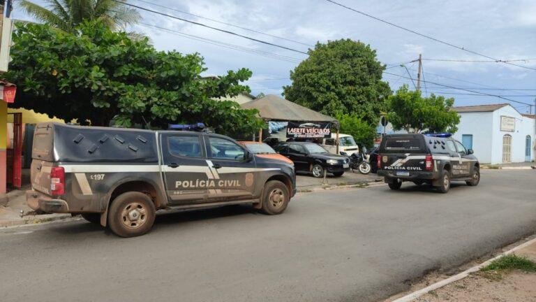 Polícia Civil  de MT identifica mais uma garagem envolvida com compra e venda de veículos de origem ilícita