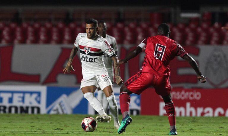 Na estreia de Crespo, São Paulo fica no empate com Botafogo-SP