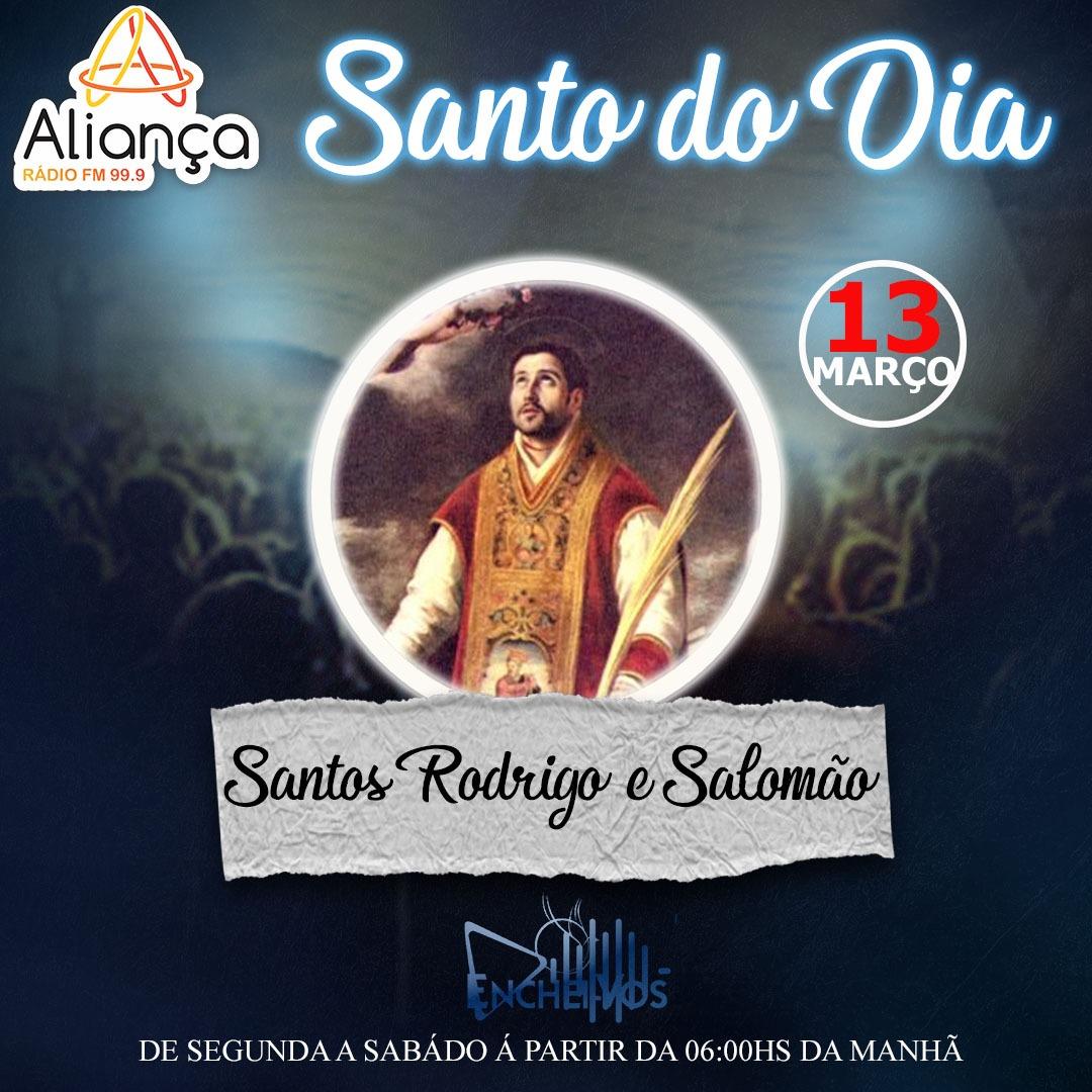 """""""Santo do Dia"""": Conheça a História dos Santos Rodrigo e Salomão"""