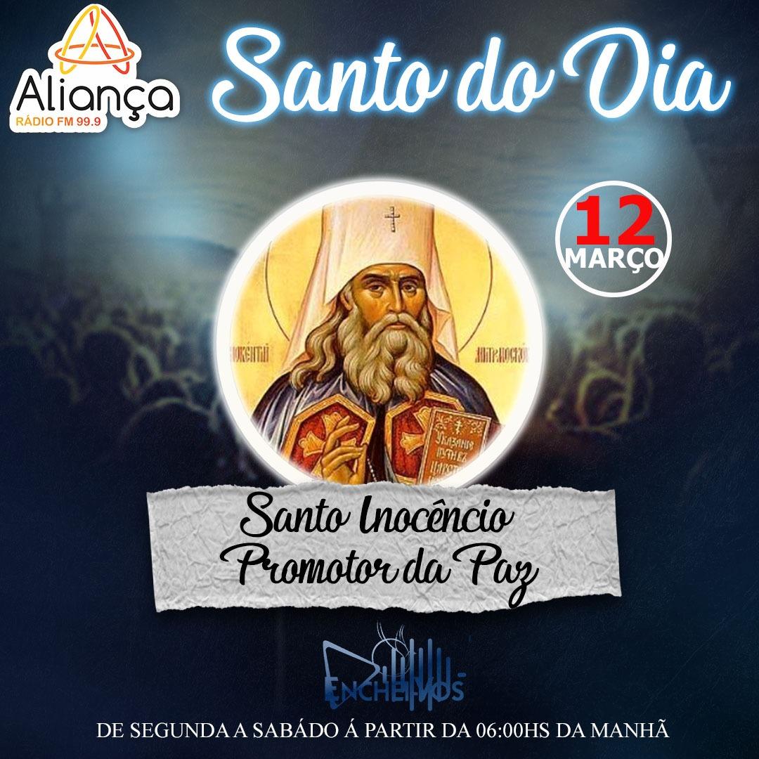 """""""Santo do Dia"""": Conheça a História de Santo Inocêncio Promotor da Paz"""