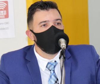 """Vereador de Colíder (MT) Marcelo Canova (MDB) foi o entrevistado do """"Cidade em Pauta"""" na Aliança FM; confira aqui"""