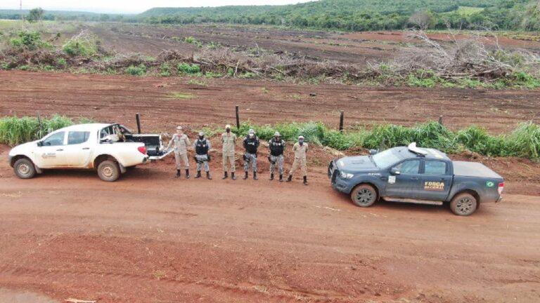 Corpo de Bombeiros aplica multa de R$10 milhões por desmatamento ilegal em MT