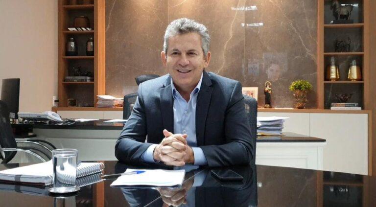 Mauro Mendes pede auxílio do embaixador dos EUA para compra direta de vacinas