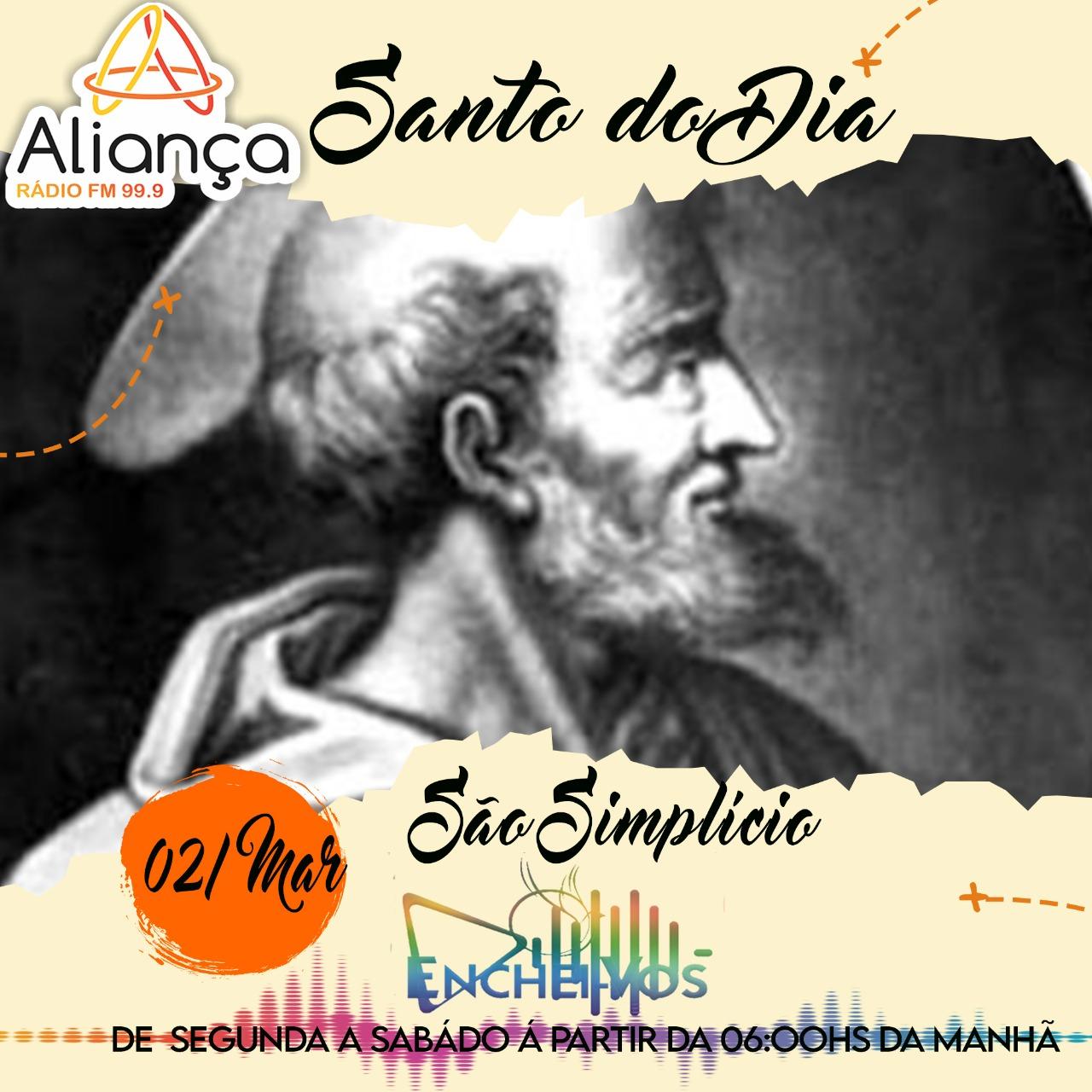 """""""Santo do Dia"""": Conheça a História de São Simplício"""