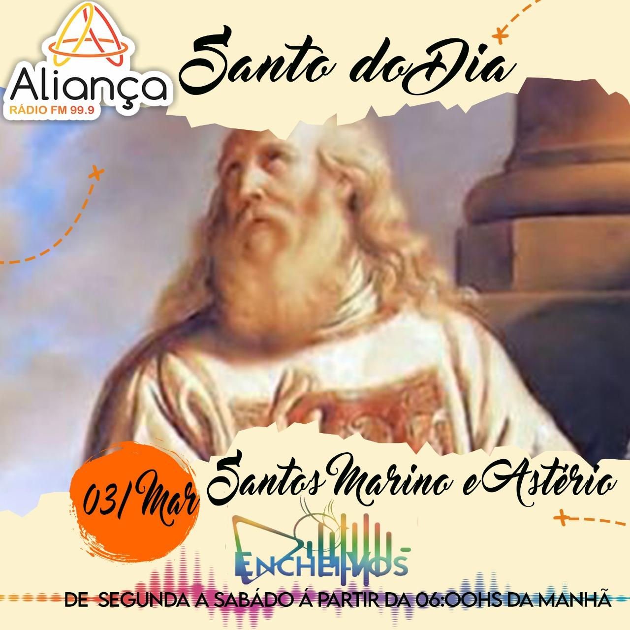 """""""Santo do Dia"""": Conheça a História de São Marino e Astério"""