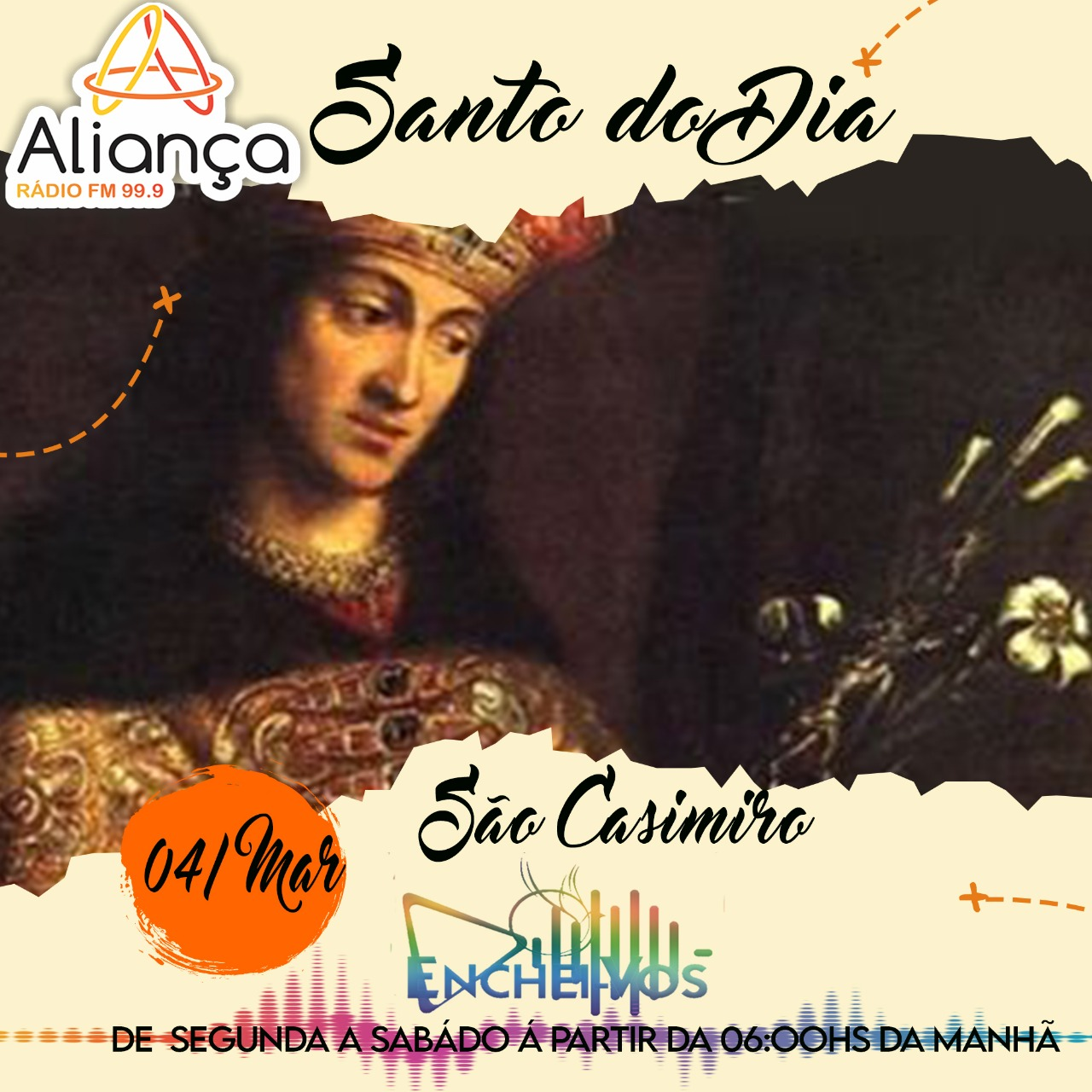 """""""Santo do Dia"""": Conheça a História de São Casimiro"""