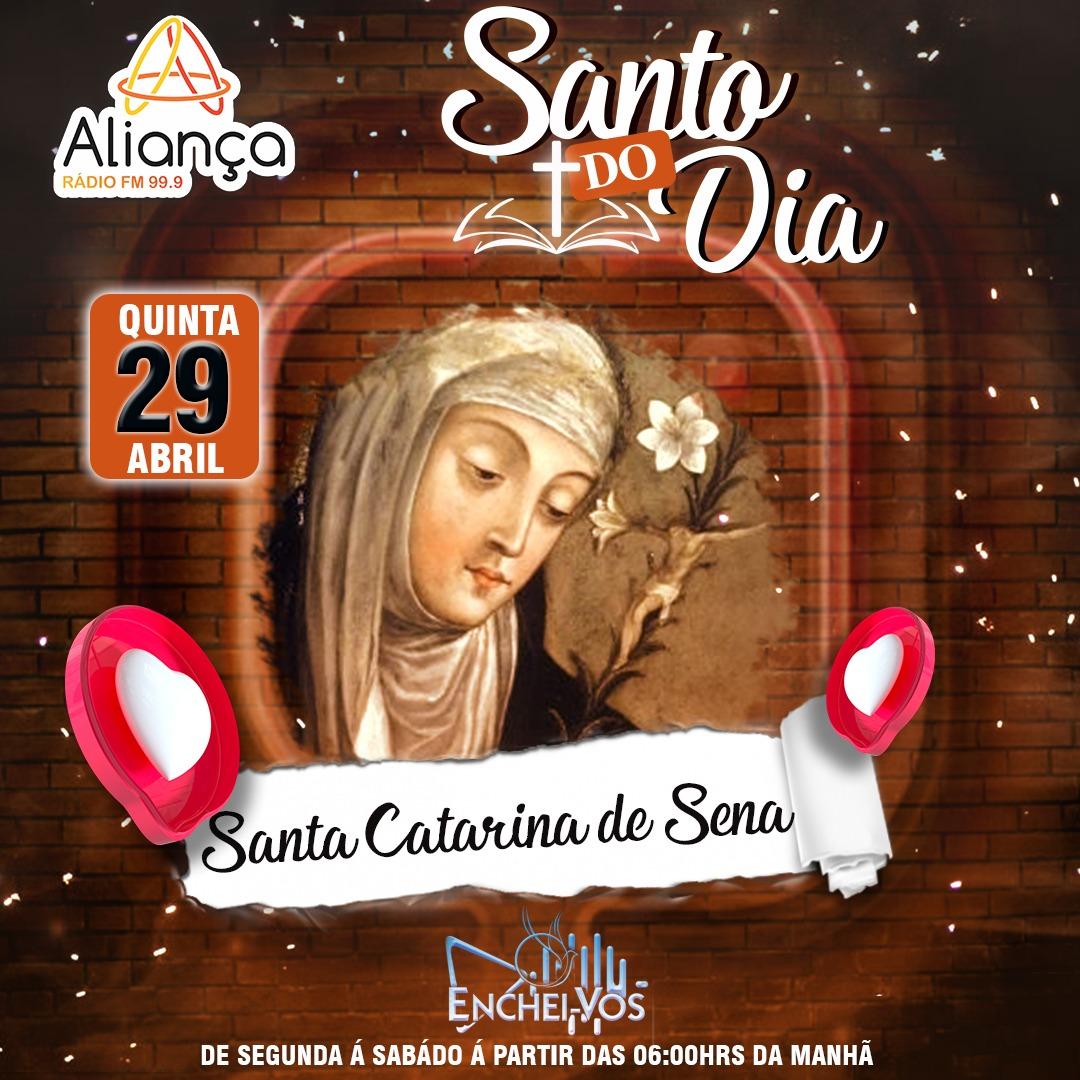 """""""Santo do Dia""""(29/04): conheça a história de Santa Catarina de Sena"""