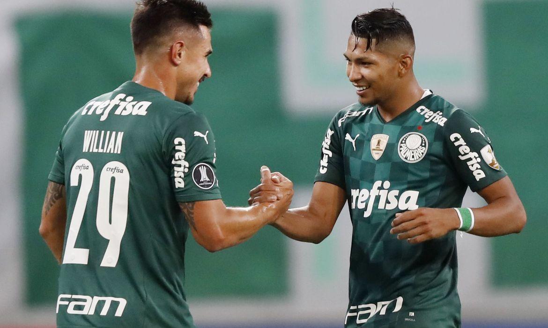 Palmeiras mantém 100% de aproveitamento na Libertadores