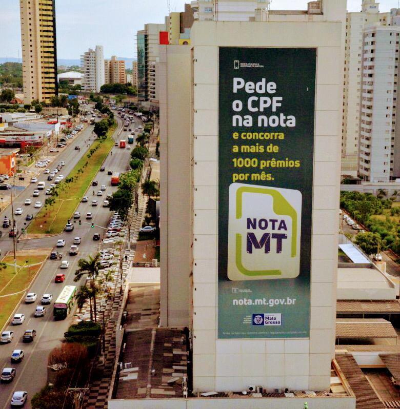 Nota MT realiza mais um sorteio mensal e distribui R$ 550 mil em prêmios esta semana