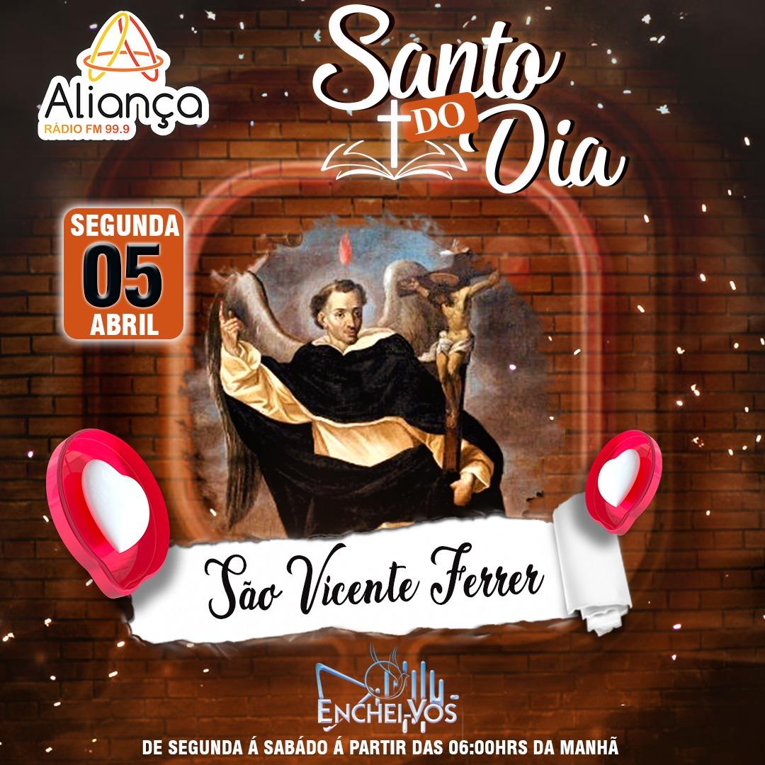 """""""Santo do Dia"""" 05/04: Conheça São Vicente Ferrer"""
