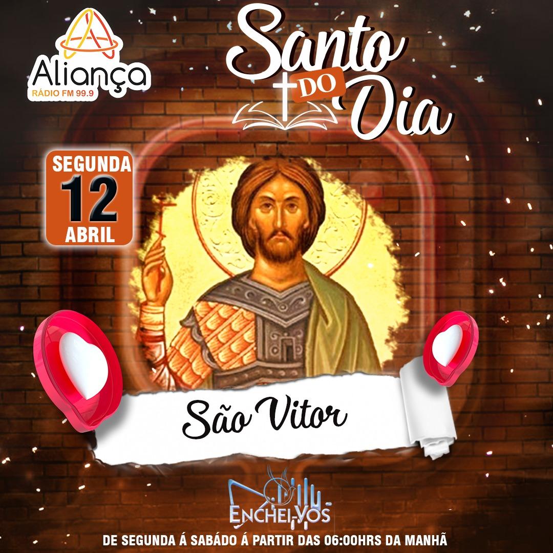 """""""Santo do Dia""""(12/04): conheça a história de São Vitor"""