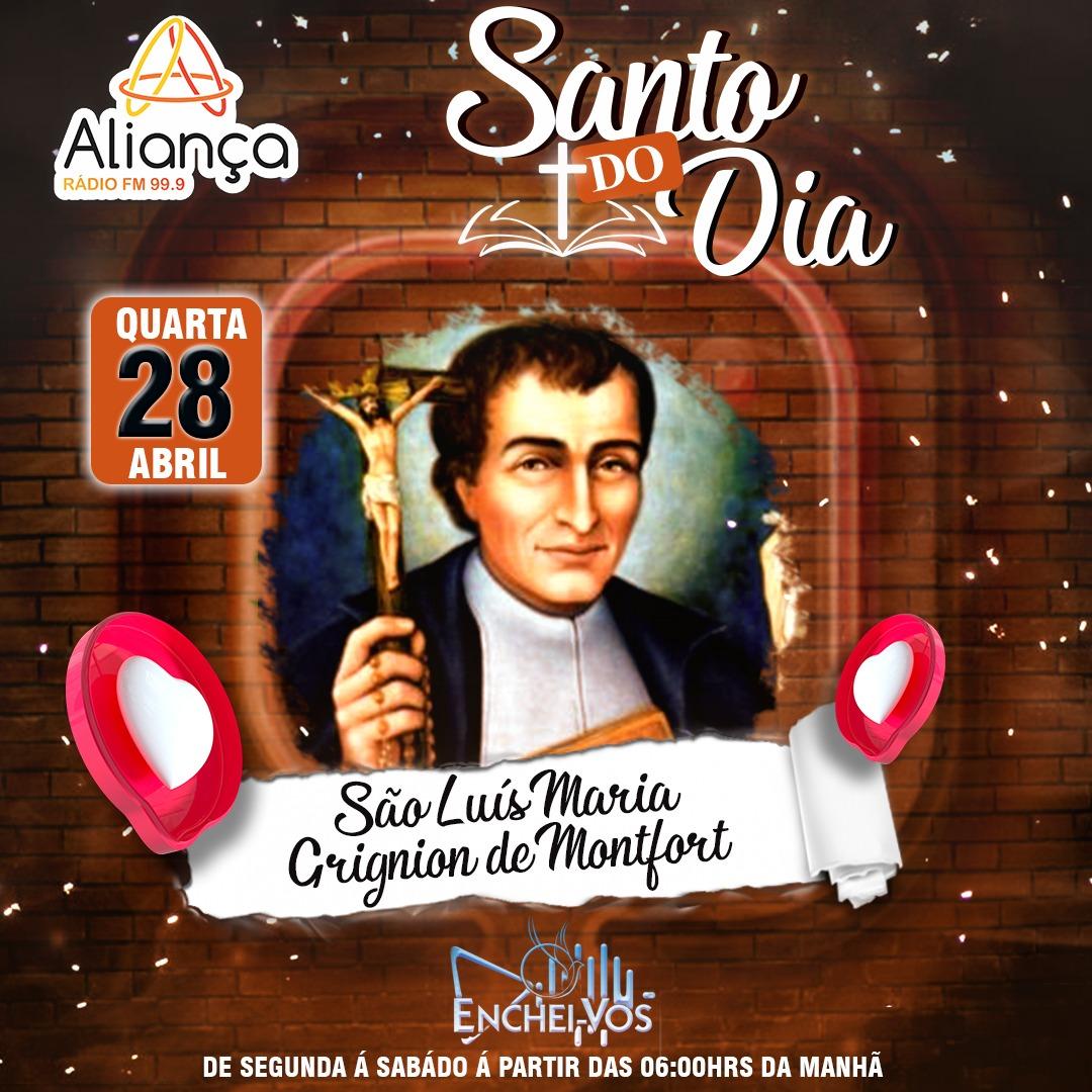 """""""Santo do Dia""""(28/04): Conheça a história de São Luís Maria Grignion de Montfort"""