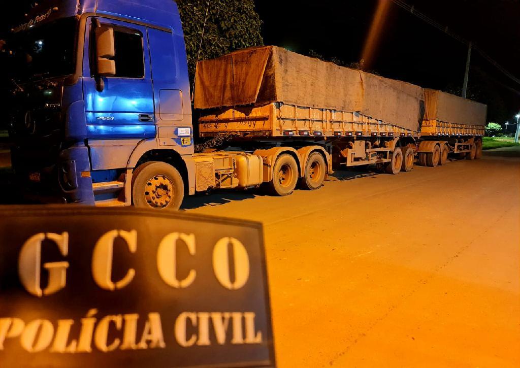 Polícia Civil apreende carga de três toneladas de emulsões explosivas em Peixoto de Azevedo (MT)