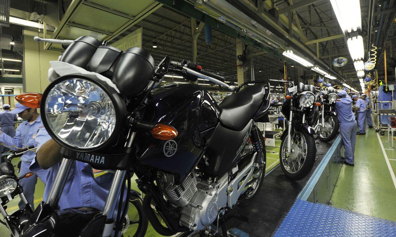 Vendas de motocicletas caem 17% no primeiro trimestre no país