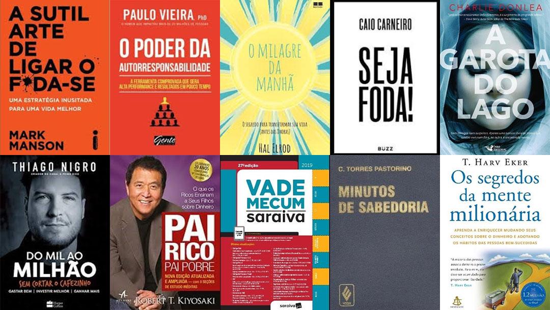 Os 15 livros mais vendidos de todos os tempos