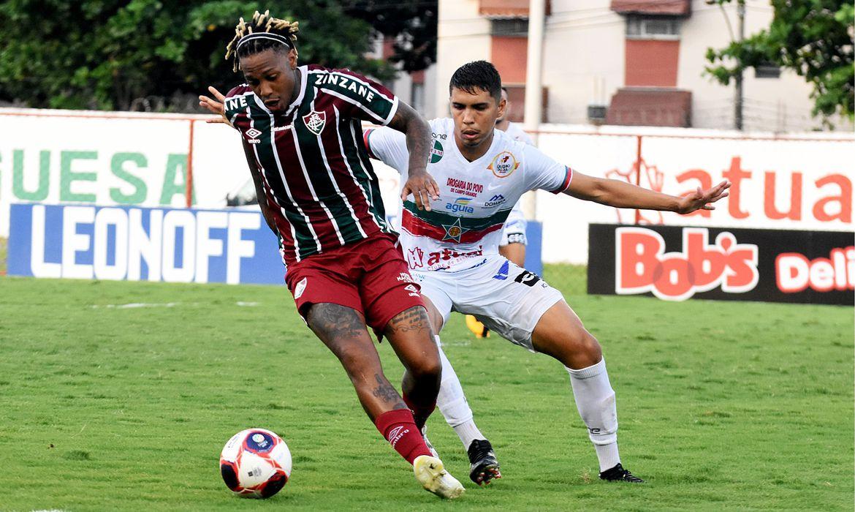 Carioca: Fluminense e Portuguesa empatam na ida da semifinal