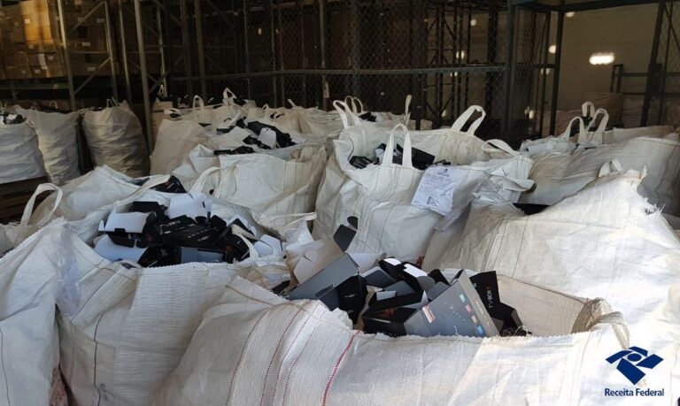 Receita Federal destrói 97 mil aparelhos de TV box piratas
