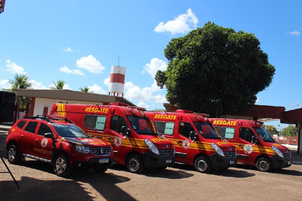Governo de Mato Grosso destina novas viaturas ao Corpo de Bombeiros Militar