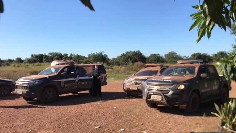 Operação Olho d'Água cumpre mandado em propriedade rural e apreende defensivos, arma e munições em MT