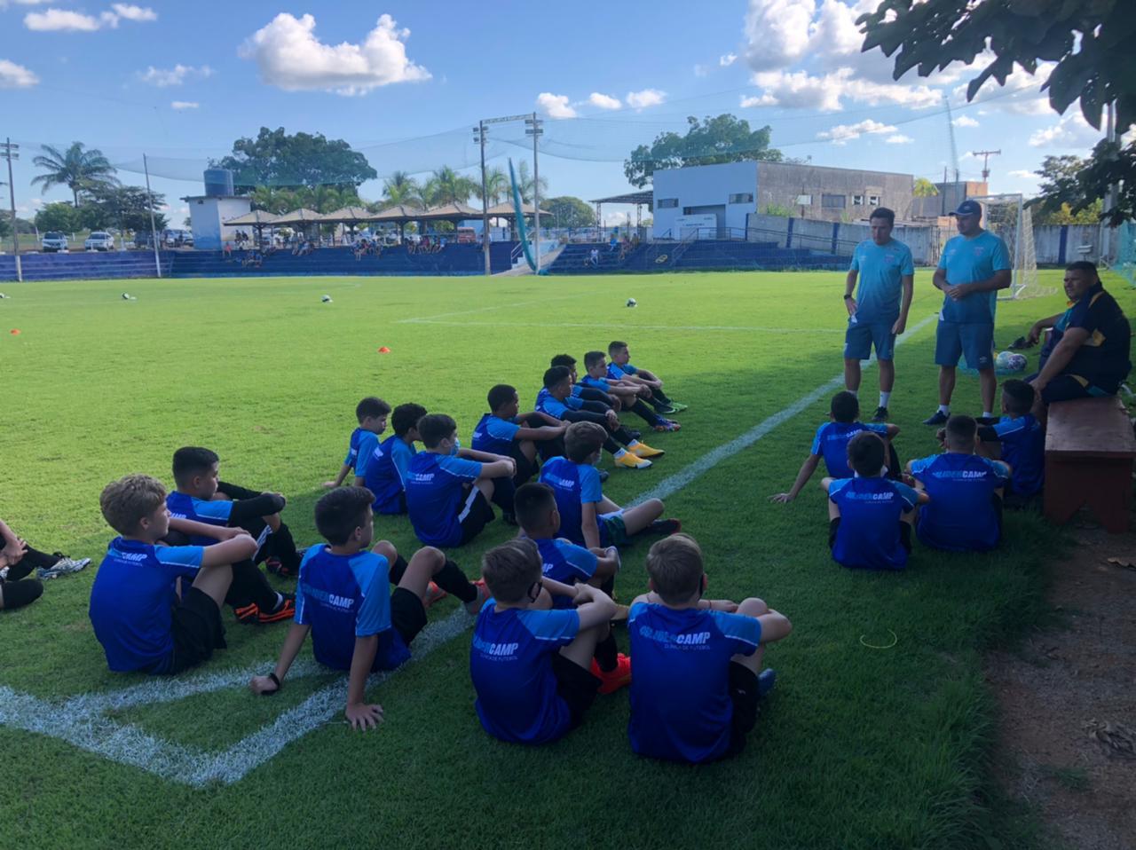 Atletas da região norte de MT são aprovados em teste para o time do Avaí (SC)