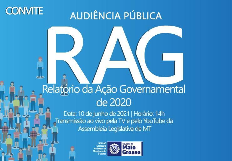 Seplag apresenta em audiência pública resultados do Governo de MT em 2020