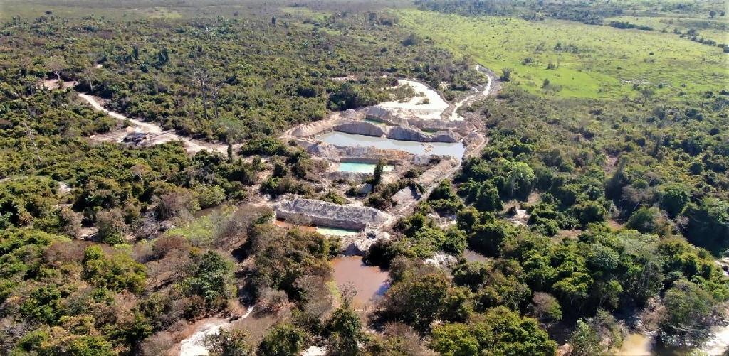 Operação Amazônia embarga 12 garimpos ilegais em Apiacás