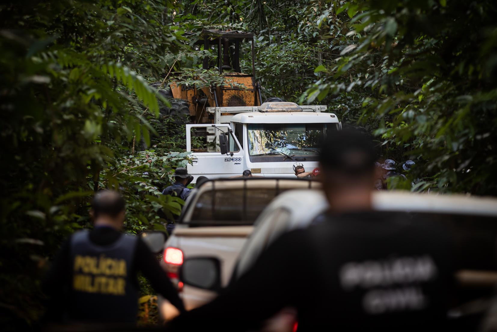 Estado intensifica Operação Amazônia após represálias de infratores ambientais em Colniza (MT)