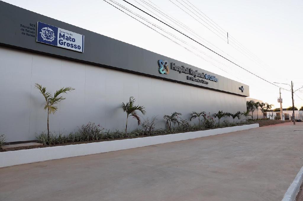 Nesta quinta-feira (29), Mauro Mendes inaugura nova ala do Hospital Regional e entrega cestas básicas e equipamentos agrícolas em Colíder (MT); agenda de compromissos começa em Guarantã do Norte (MT)