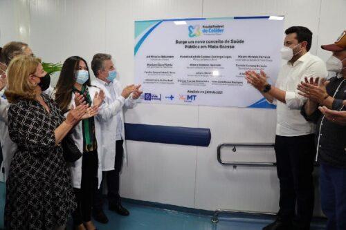 """""""Este é um Governo diferenciado, que faz as coisas acontecerem"""", afirma prefeito de Colíder (MT) em inauguração de nova ala do Hospital Regional"""